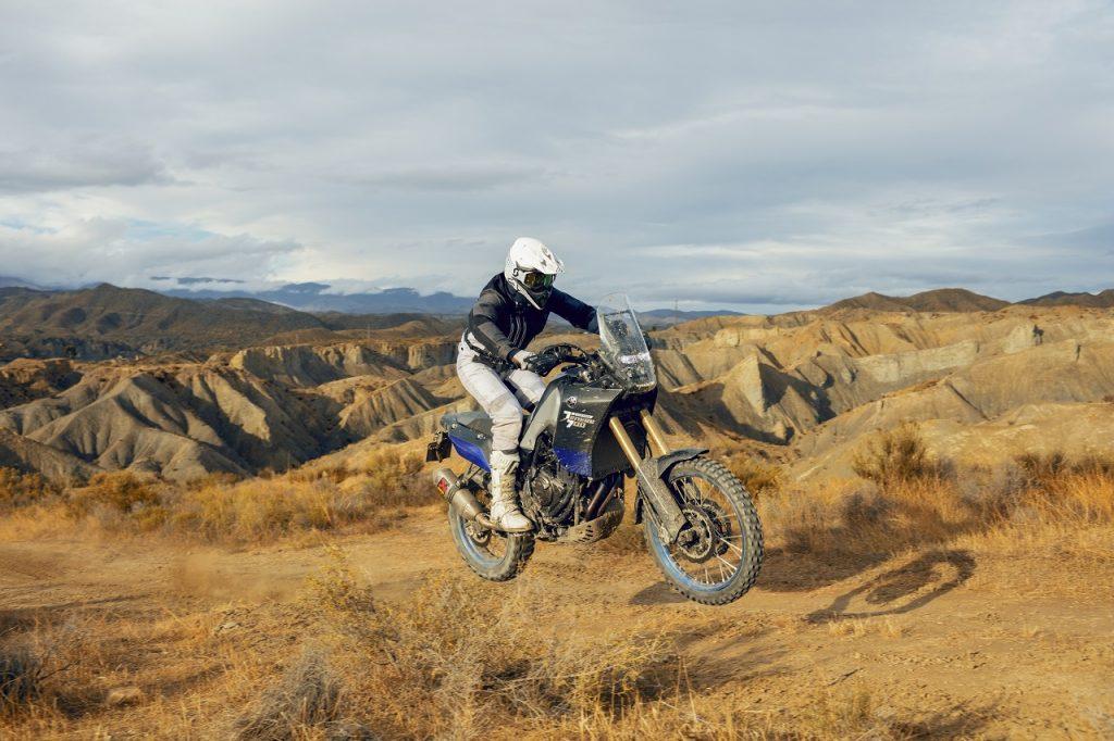 Yamaha Ténéré 700 jump