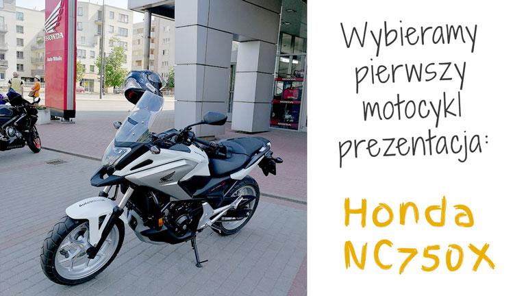 Honda NC750X prezentacja