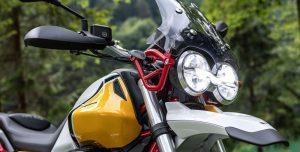 Moto Guzzi V85 TT - światła