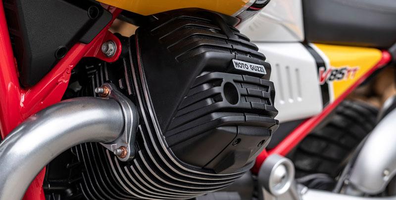 Moto Guzzi V85 TT - silnik
