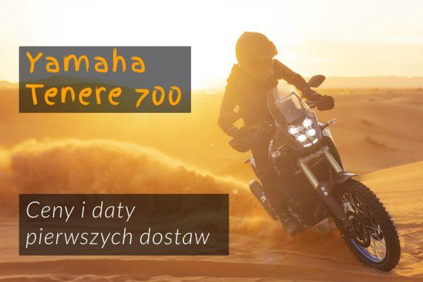 Znamy ceny Yamaha Tenere 700