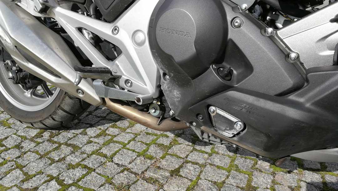 Honda NC750X szlif - prawy bok