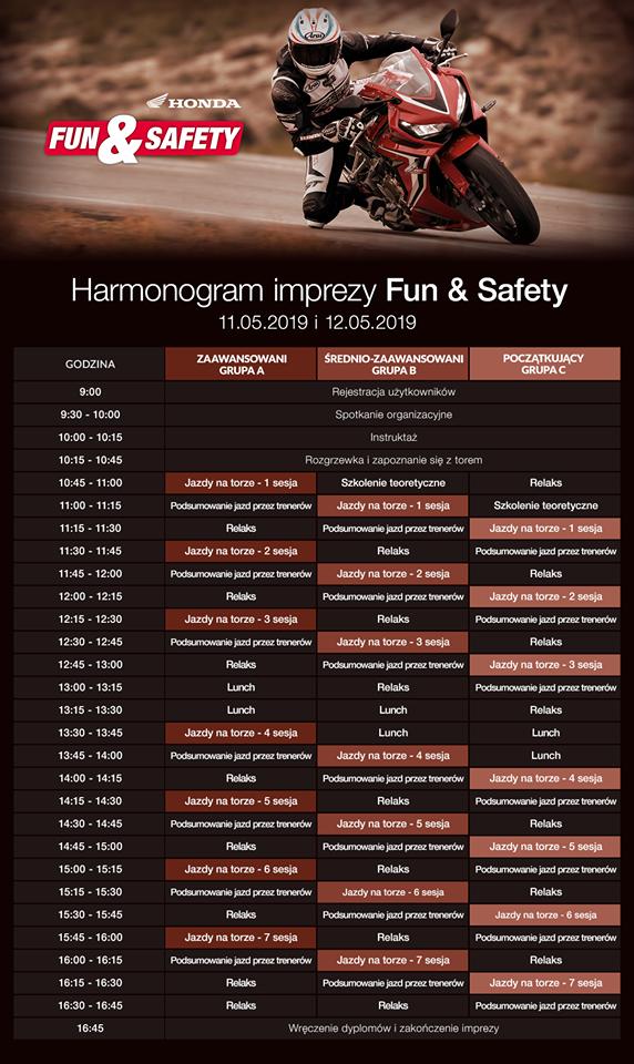Program Honda Fun&Safety 2019
