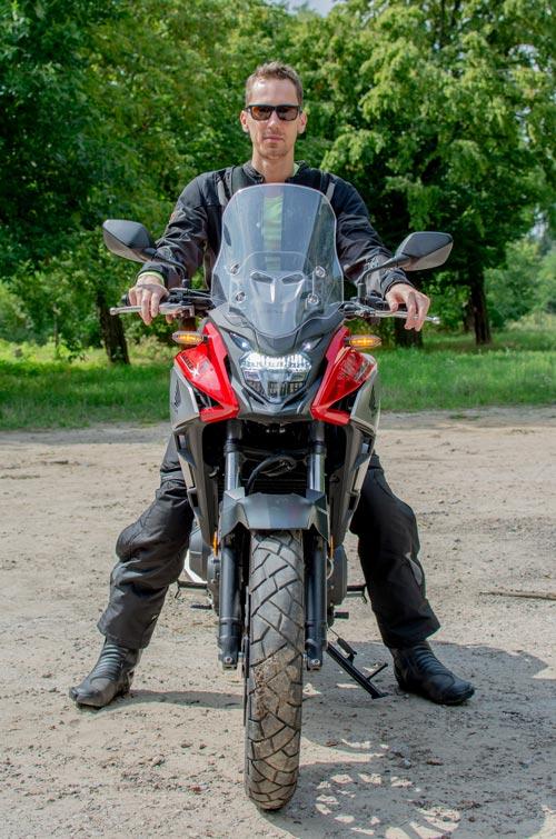 Szyba Honda CB500X 2019r