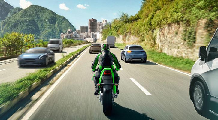 Kawasaki pierwszym producentem motocykli wyposażony w systemem ARA od Bosch