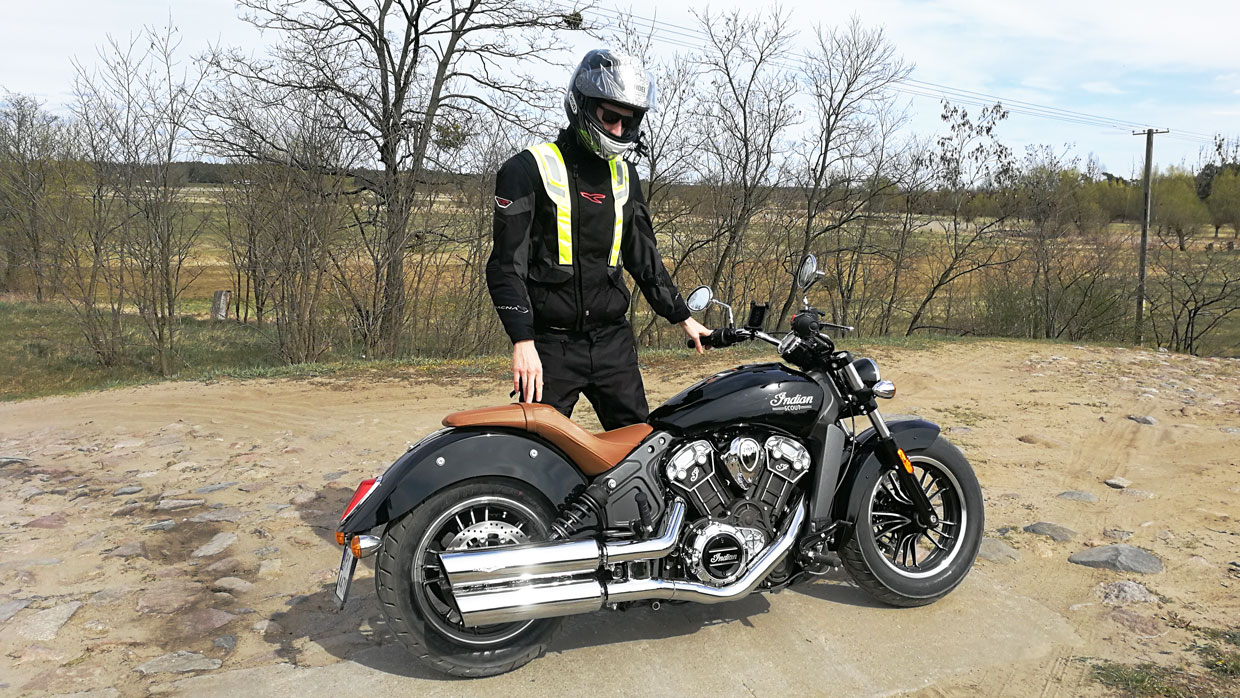 Indian Scout recenzja, test, opinia