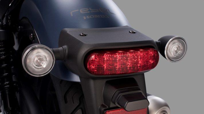 HONDA REBEL 2020 światła LED tył
