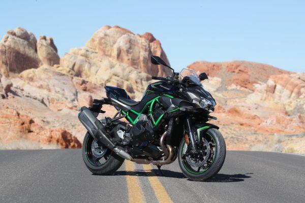 Nowe Kawasaki Z H2 trafia w 10! w Las Vegas