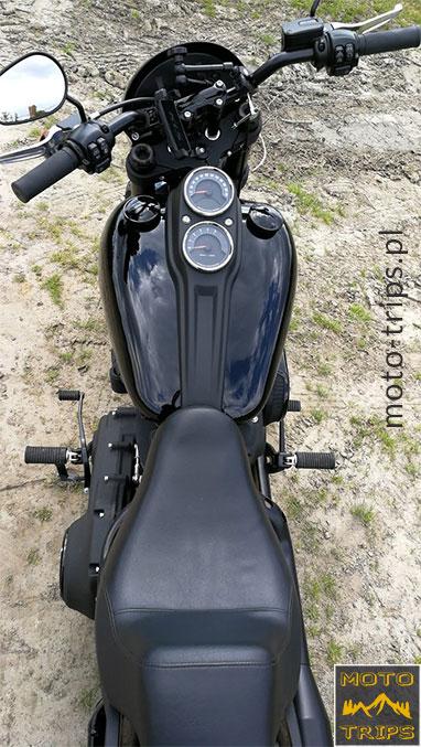 Harley-Davidson-Low-Rider-S---siedzenie