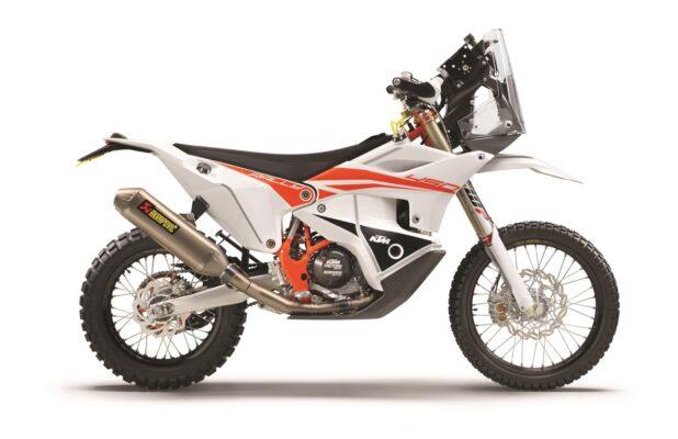 KTM 450 RALLY REPLICA 2021 90 degree