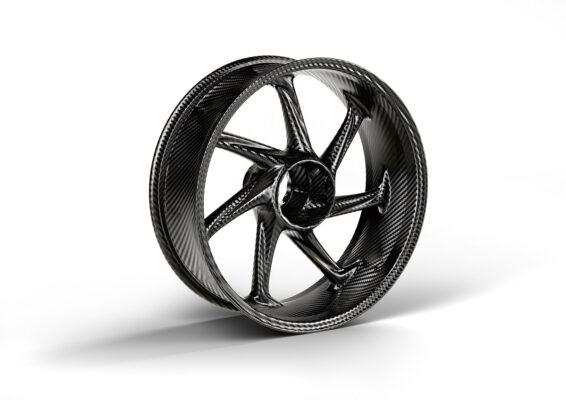 M carbon rear wheel
