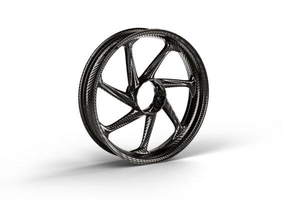 M carbon front wheel