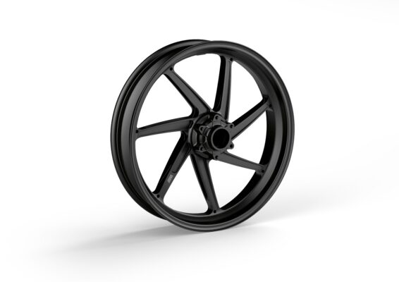 M forged wheel, front