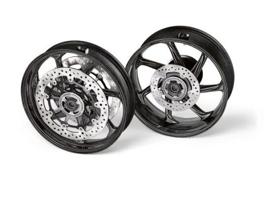 M Performance carbon fibre wheel set for the BMW S 1000 RR