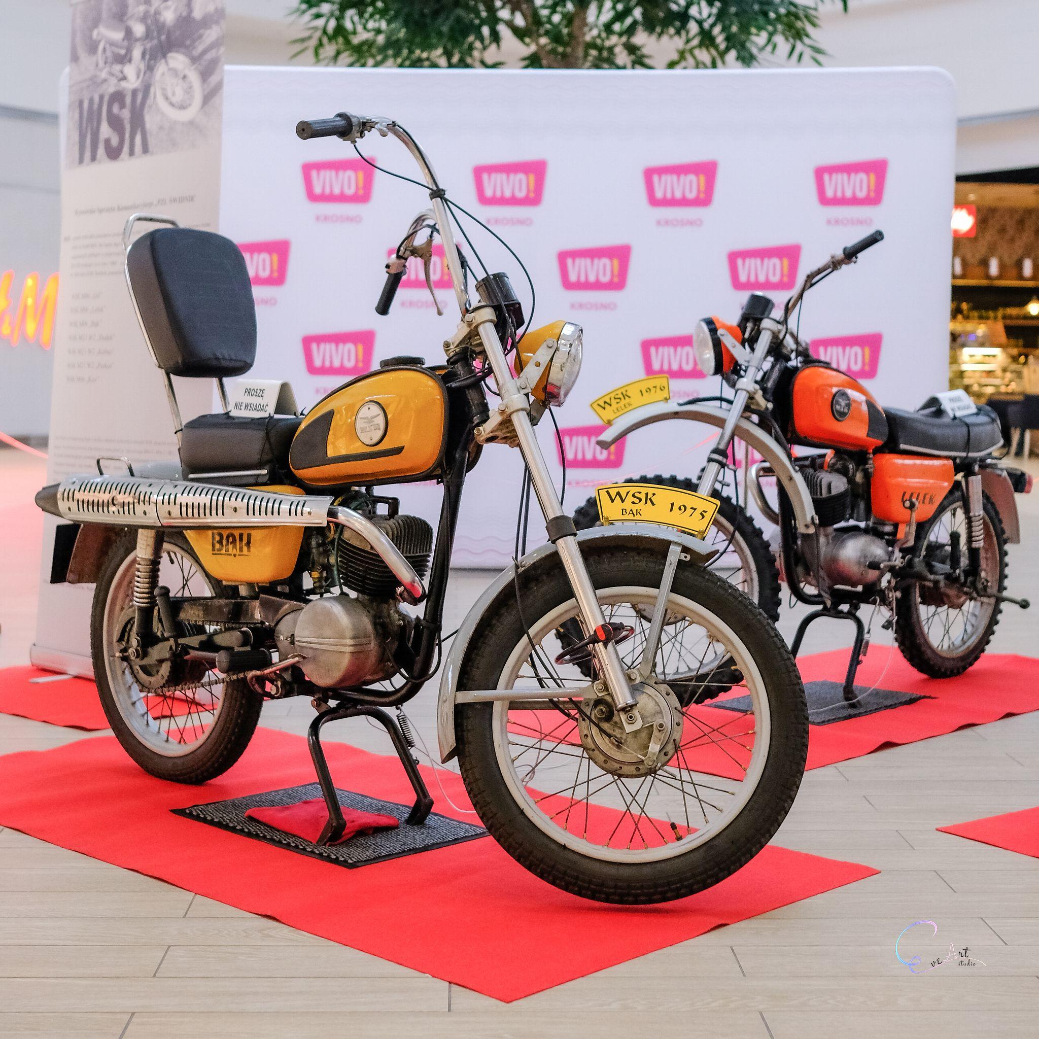Kultowe motocykle marki WSK zawitały do VIVO! Krosno
