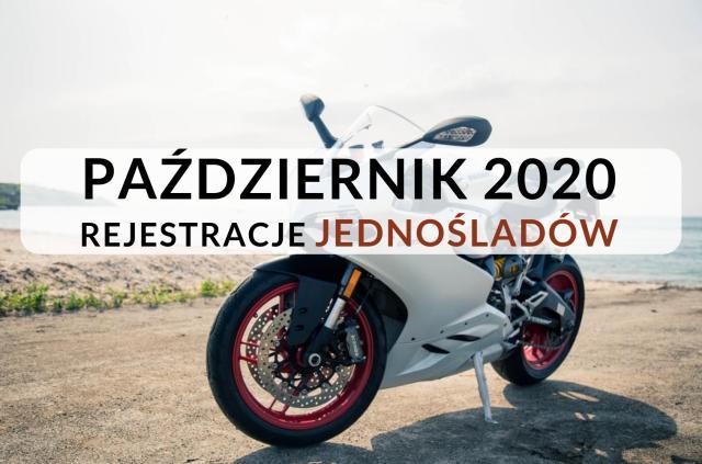 Rejestracja motocykli październik 2020