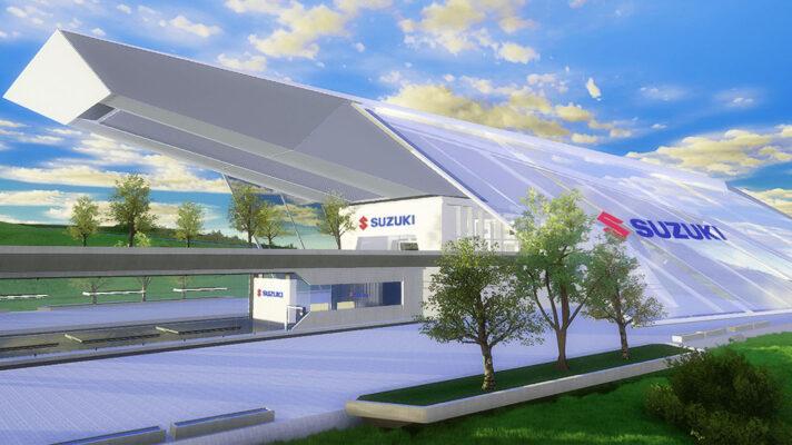Wirtualny salon motocyklowy Suzuki
