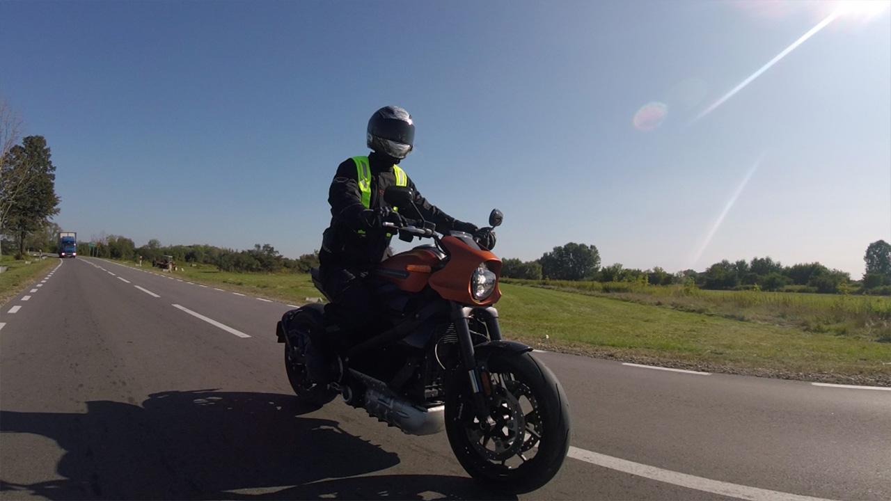 Test Harley Davidson LiveWire
