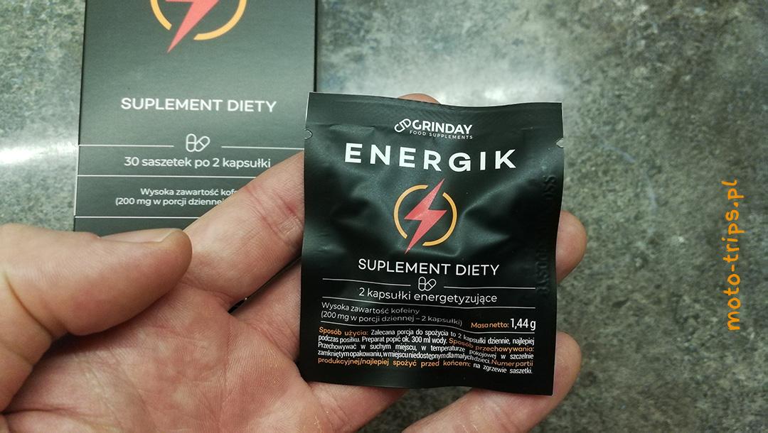 Potrzebujesz zastrzyku energii? Mamy coś co zapewni naturalny zastrzyk Energik od Grinday – opinia o suplemencie